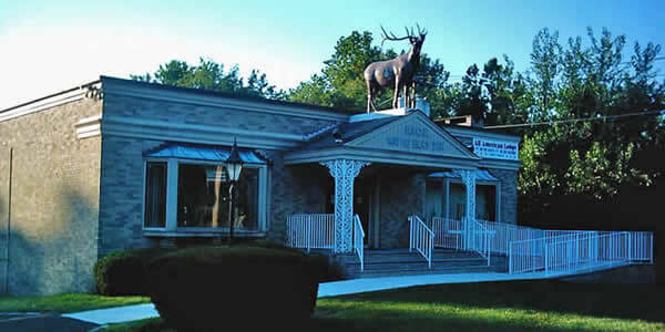 Elks Lodge Entrance